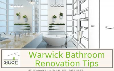 Warwick Bathroom Renovation Tips