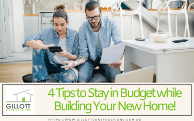 4 Tips to Stay in Budget while Building Your New Home!
