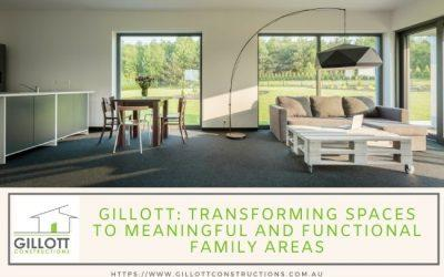 Gillott: Transforming spaces to meaningful and functional family areas