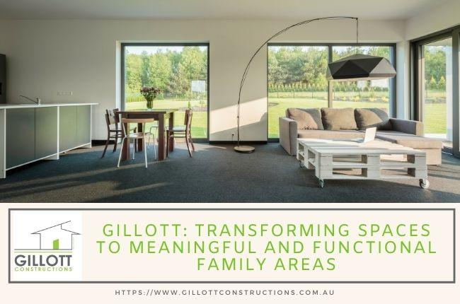 Gillott Transforming spaces to meaningful and functional family areas