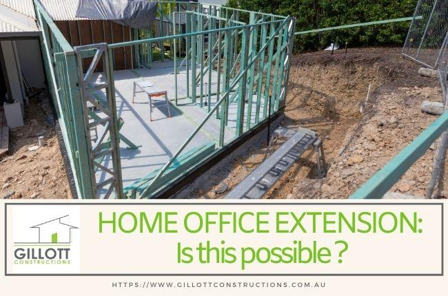 Home Office Extension: Is this possible?