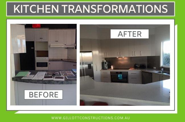Kitchen Transformations - functional family areas
