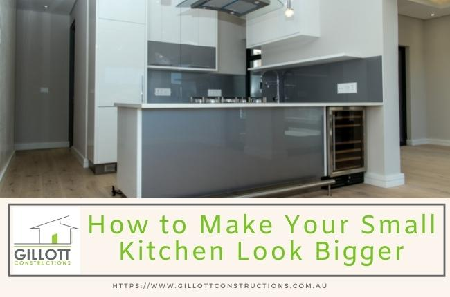 How to Make Your Small Kitchen Look Bigger